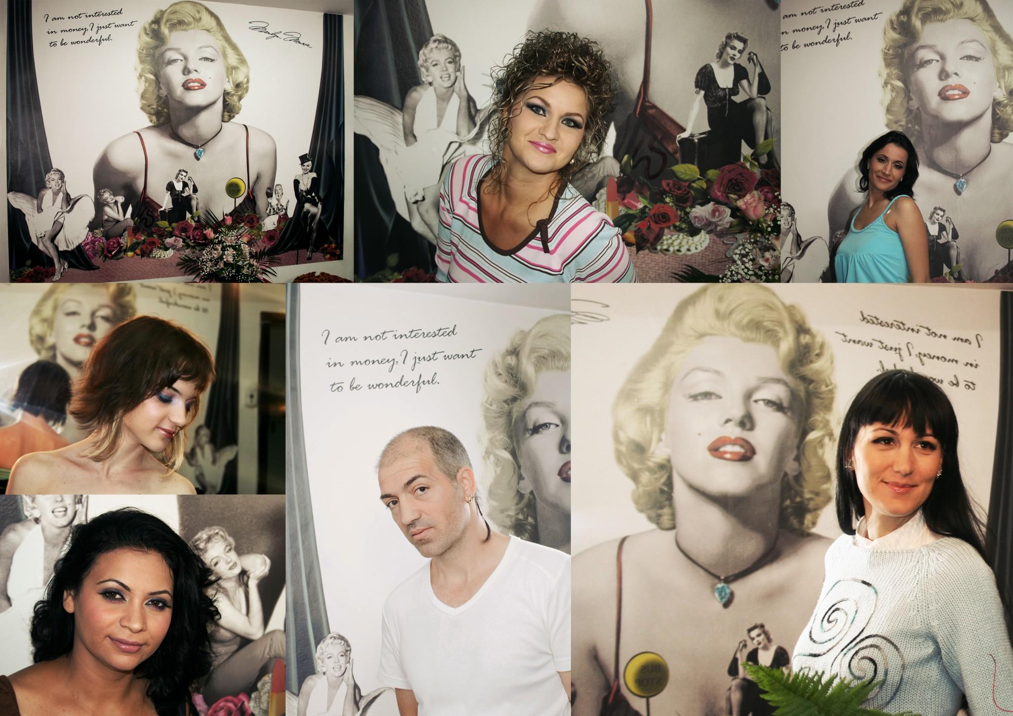Toata lumea vrea poza cu Marilyn :)))