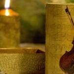 Cutie cu vioara