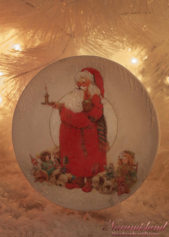Farfurie Decorativa, Santa La Culcare :)