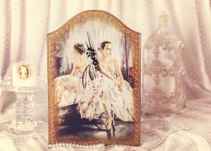 "Ceas ""Balerina"" handmade"