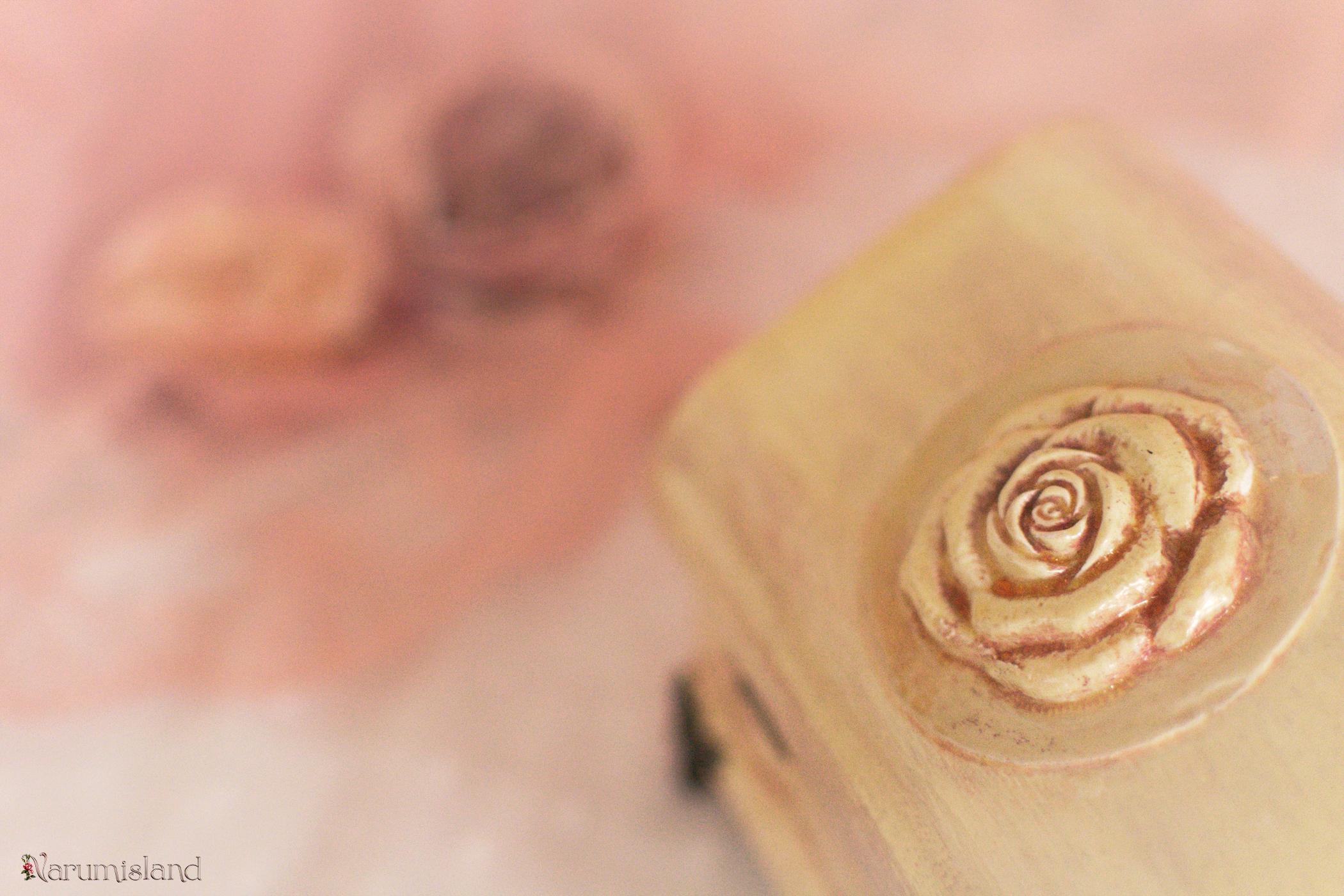 Detaliu Cufar Cu Ornament 3d Roz