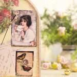 ceas cu trandafiri si scrisori de dragoste